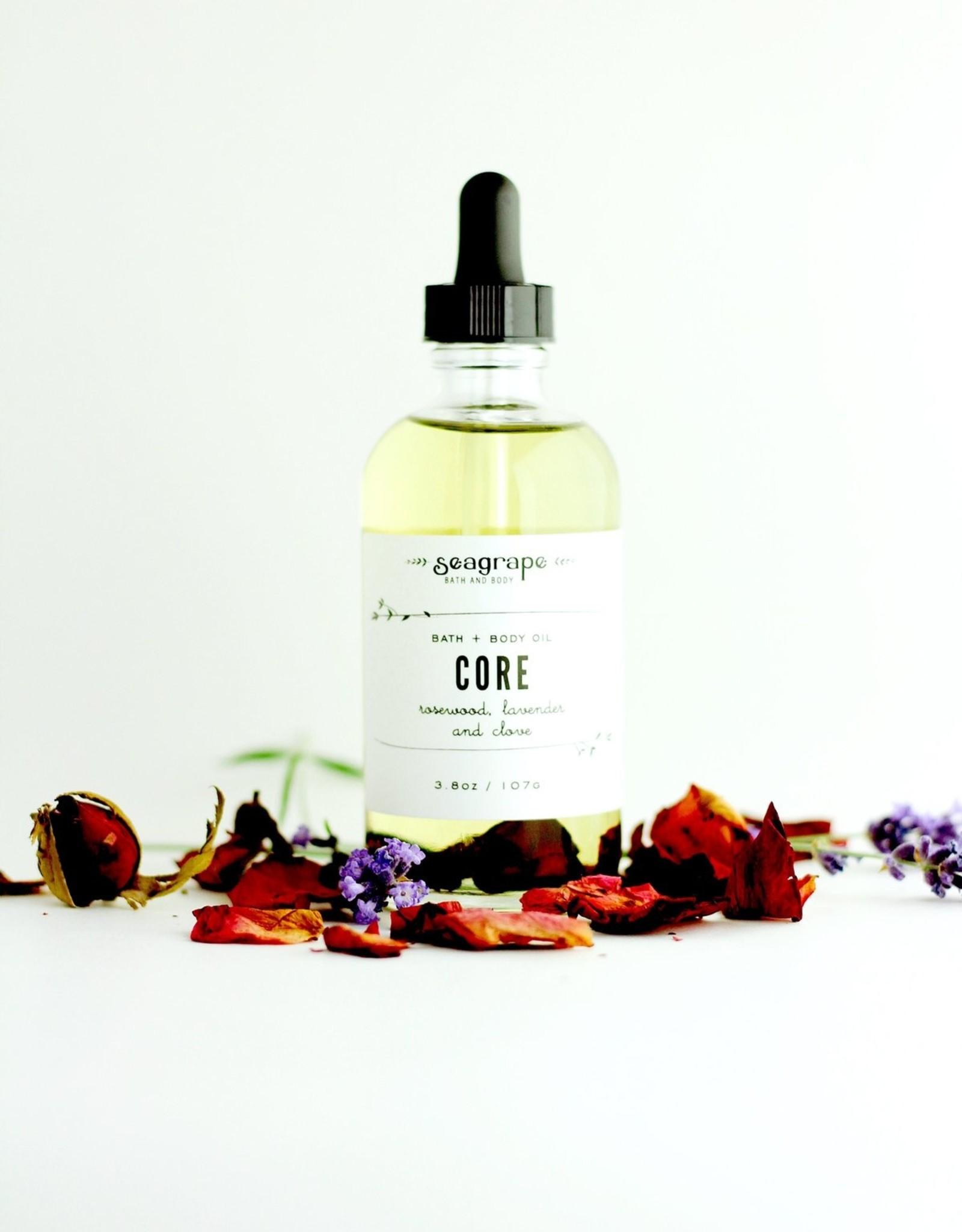 Seagrape Core Massage Oil