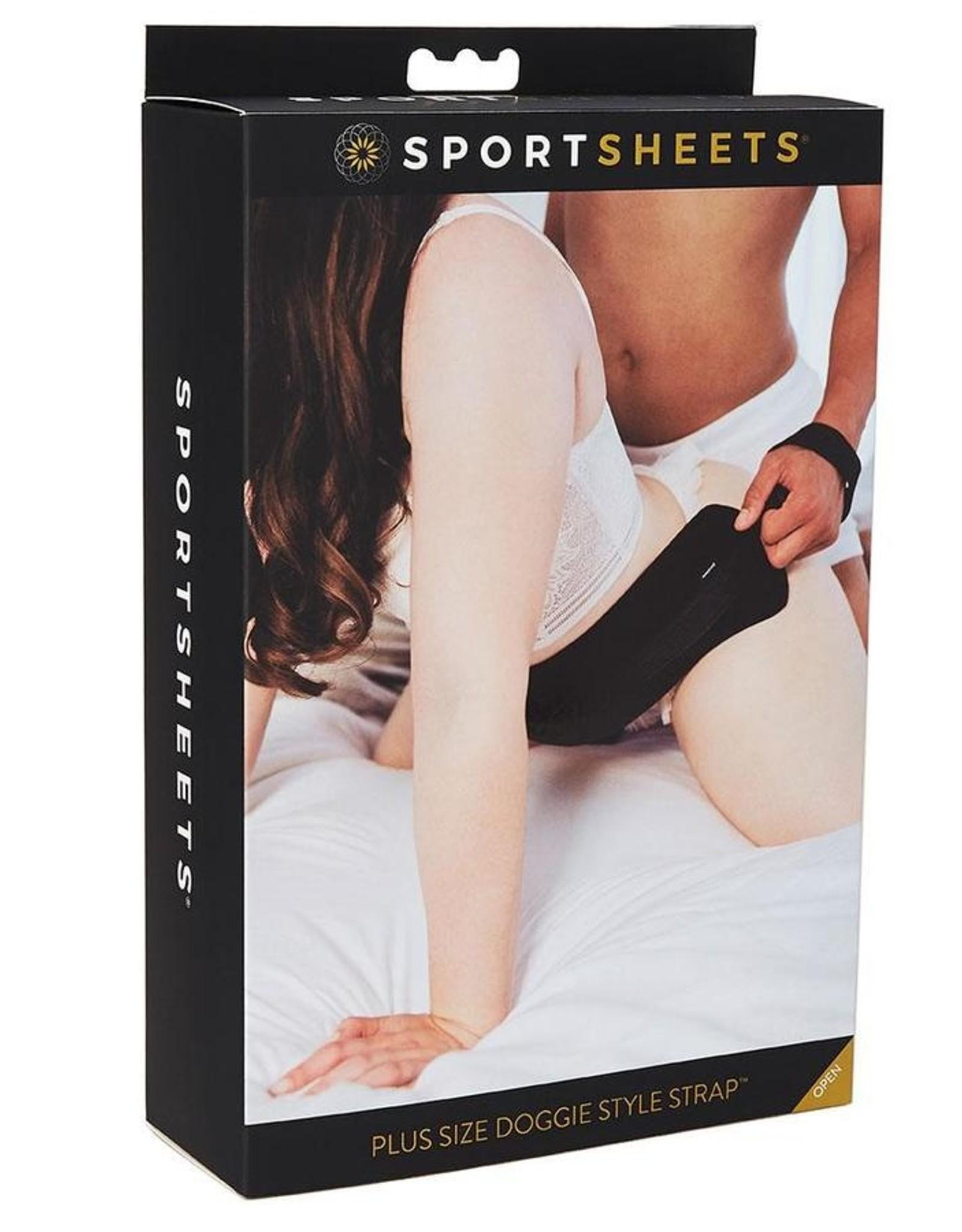 Sportsheets Doggie Style Strap Plus Size