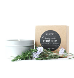 Seagrape Exotic Fields Massage Candle