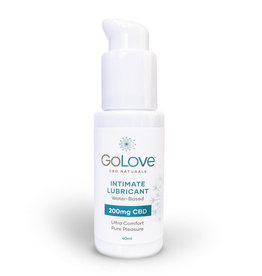 GoLove CBD Water Based Lube