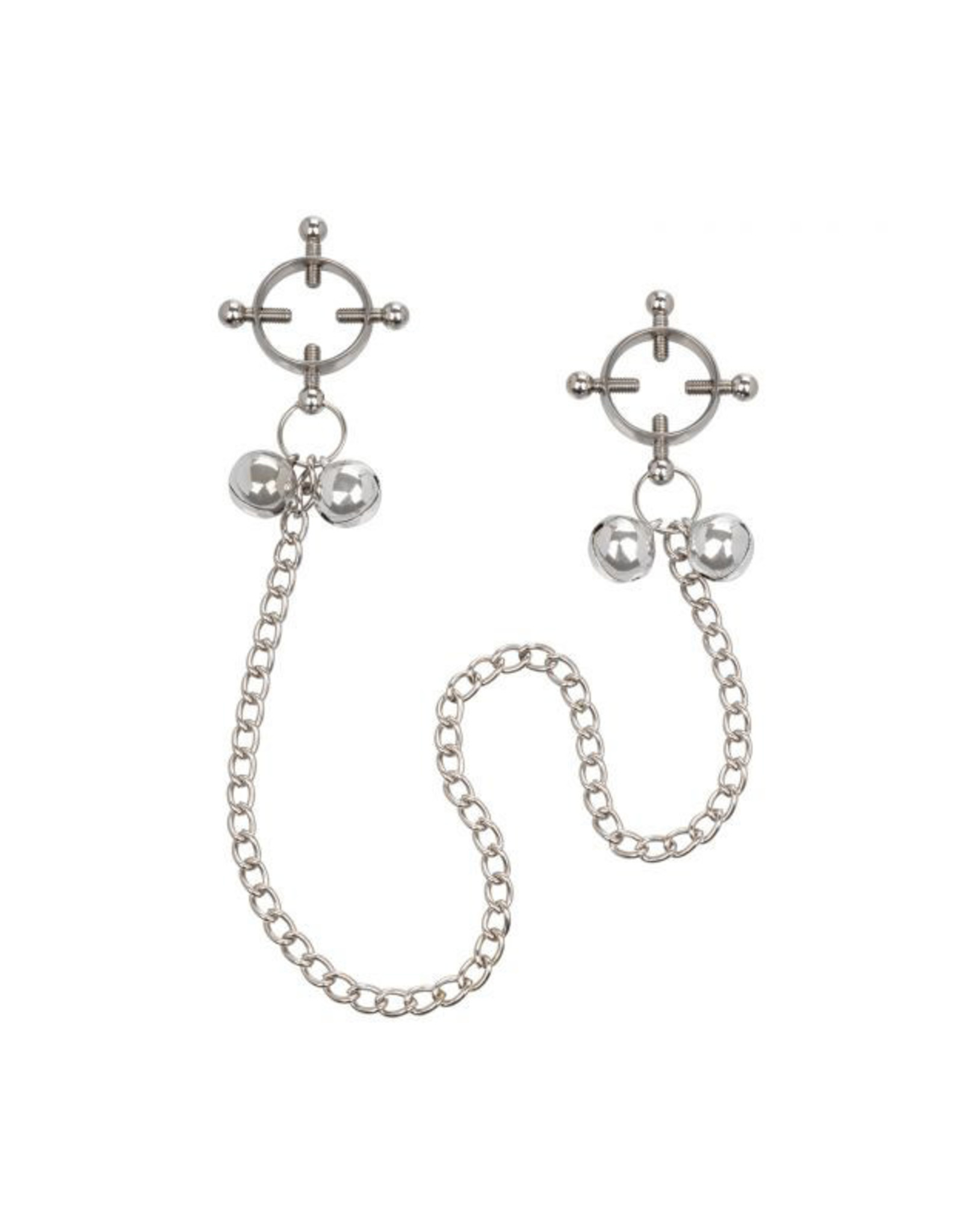 California Exotics 4 Point Nipple Clamp with Bells