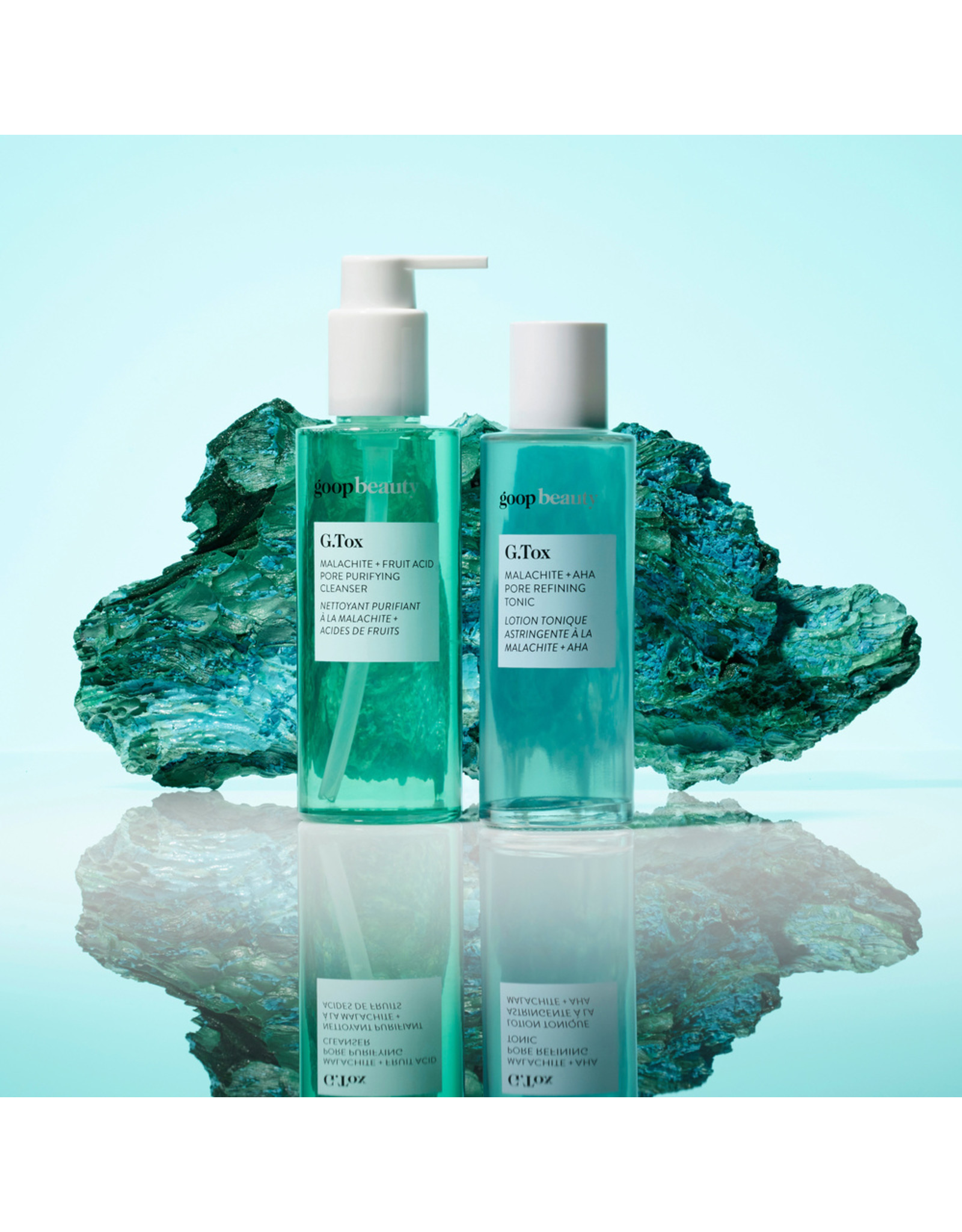 goop Beauty G.TOX Malachite + Fruit Acid Pore Purifying Cleanser (Size: 5 fl oz)