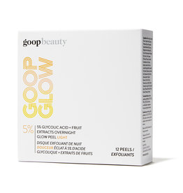 goop Beauty goop Beauty GOOPGLOW 5% Glycolic Acid Overnight Glow Peel Light (Size: 12-Pack)