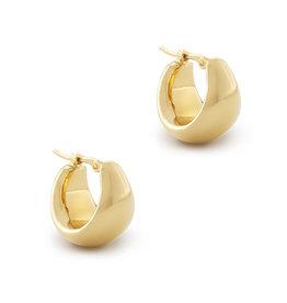 Ariel Gordon Ariel Gordon Helium Earrings (Color: Yellow Gold)