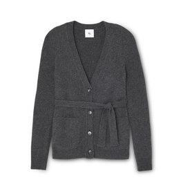 G. Label G. Label Jeanette Belted Cardigan (Color: Black, Size: S)