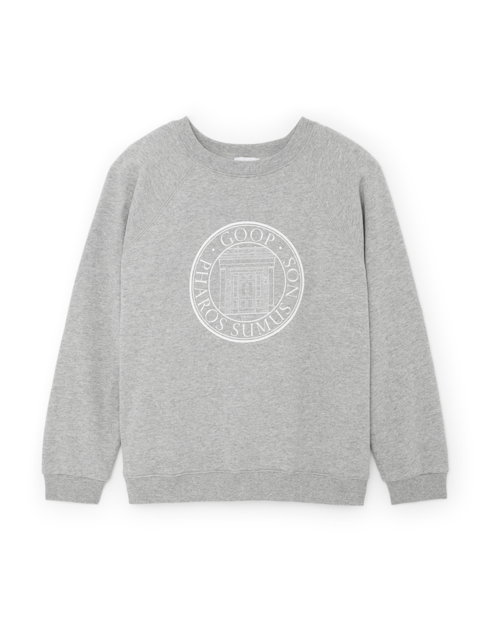 G. Label G. Label goop University Sweatshirt (Color: Grey Heather, Size: S)
