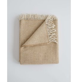 Evangeline Evangeline Harvest Herringbone Throw