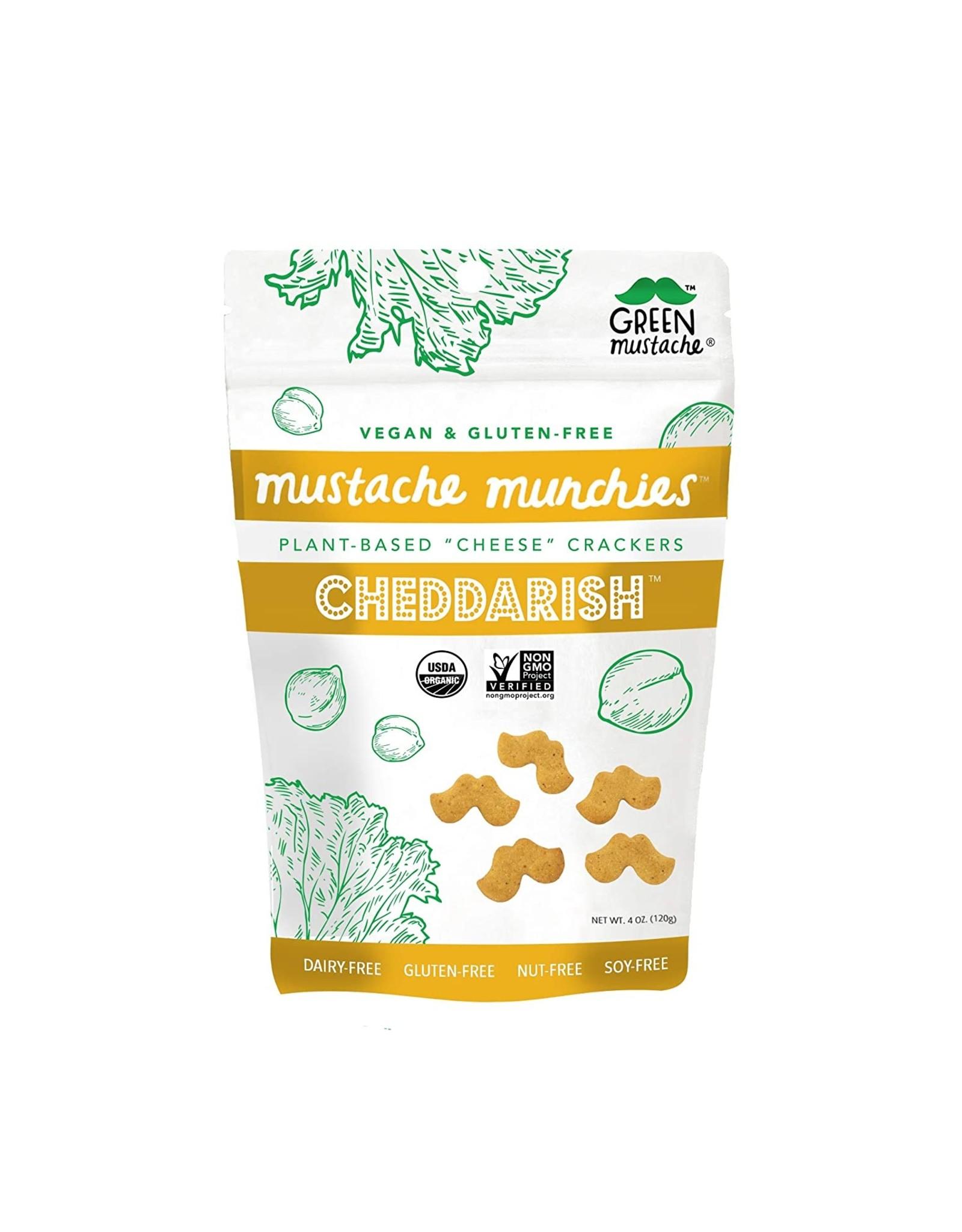 Bonberi Mustache Munchies - Cheddarish