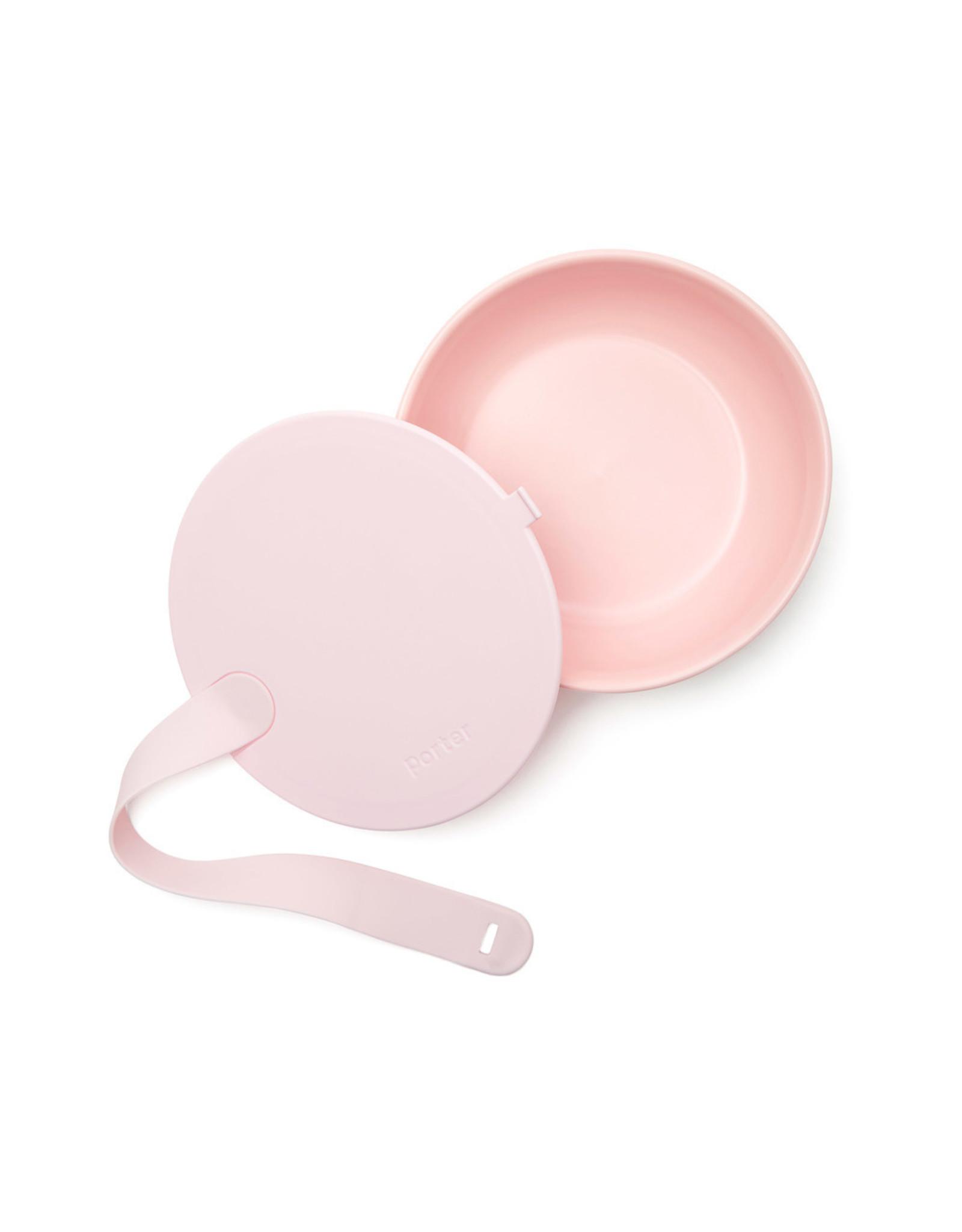 W&P Design Porter Ceramic To-Go Bowl (Color: Blush)