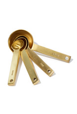 JUNE Gold Measuring Spoons (set of 4)