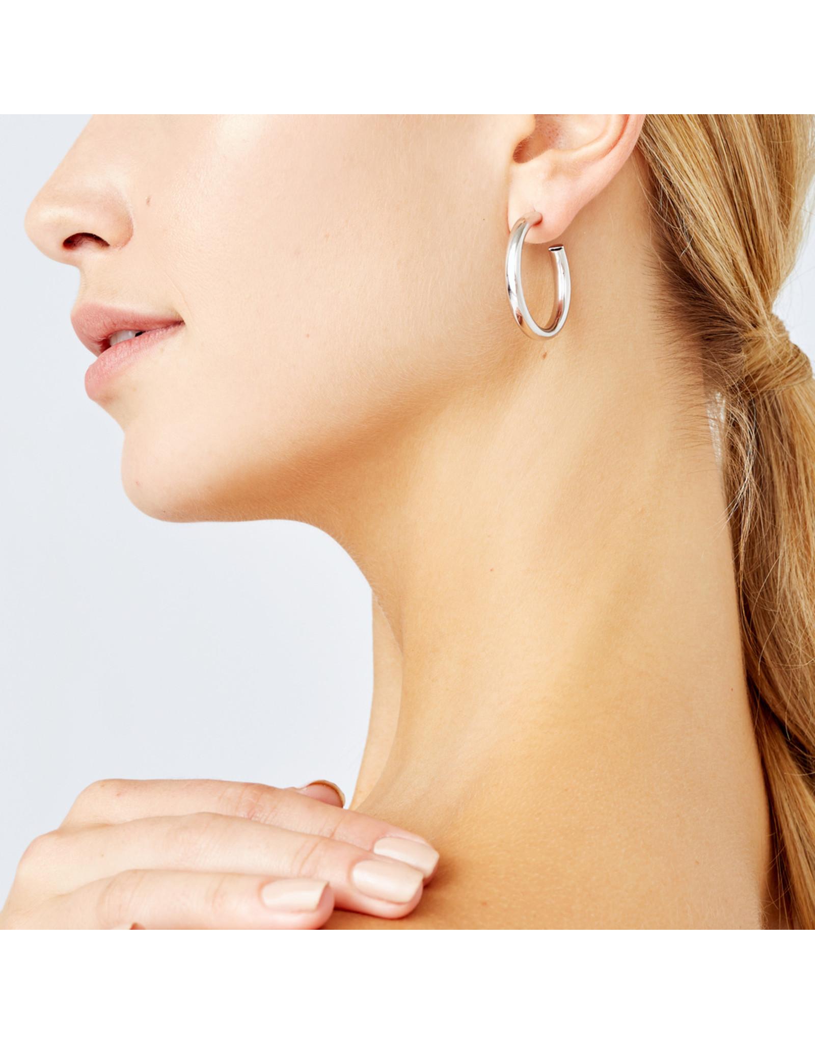 Jennifer Fisher Jennifer Fisher Goop Hoop Earrings Silver