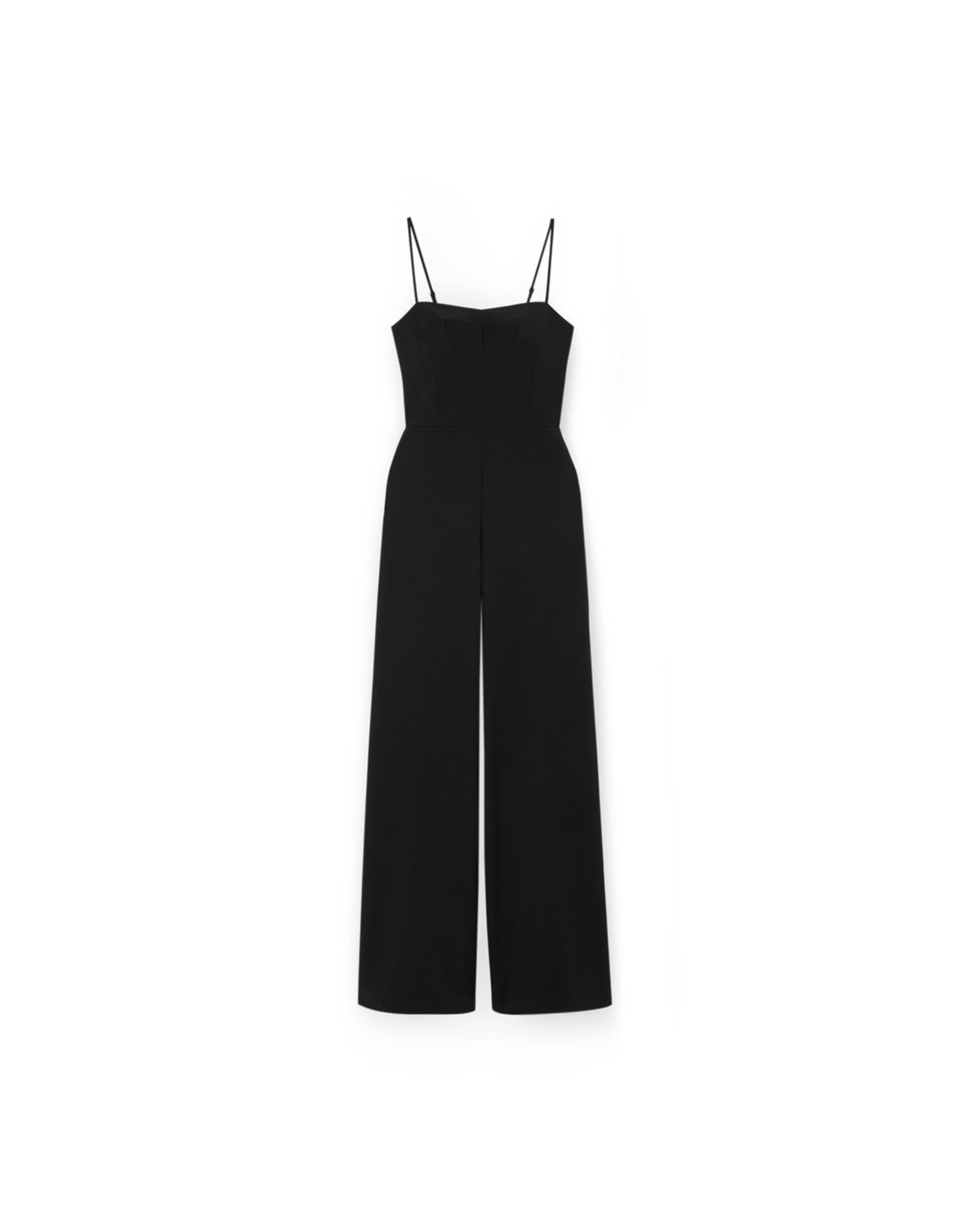 G. Label Brianna Bustier Jumpsuit (Color: Black, Size 8)