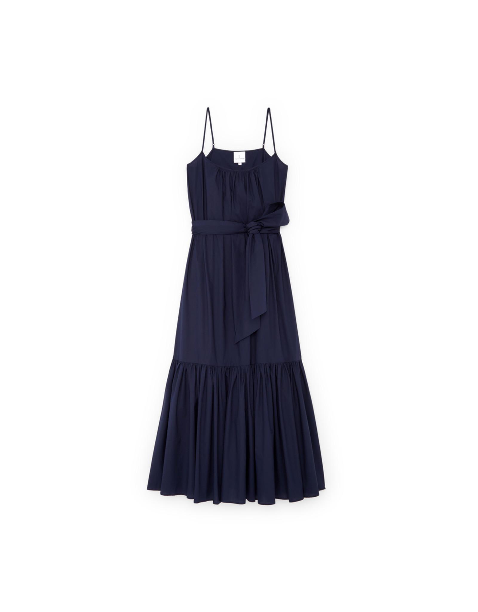 G. Label Capri Skinny Strap Dress (Color: Navy, Size: L)