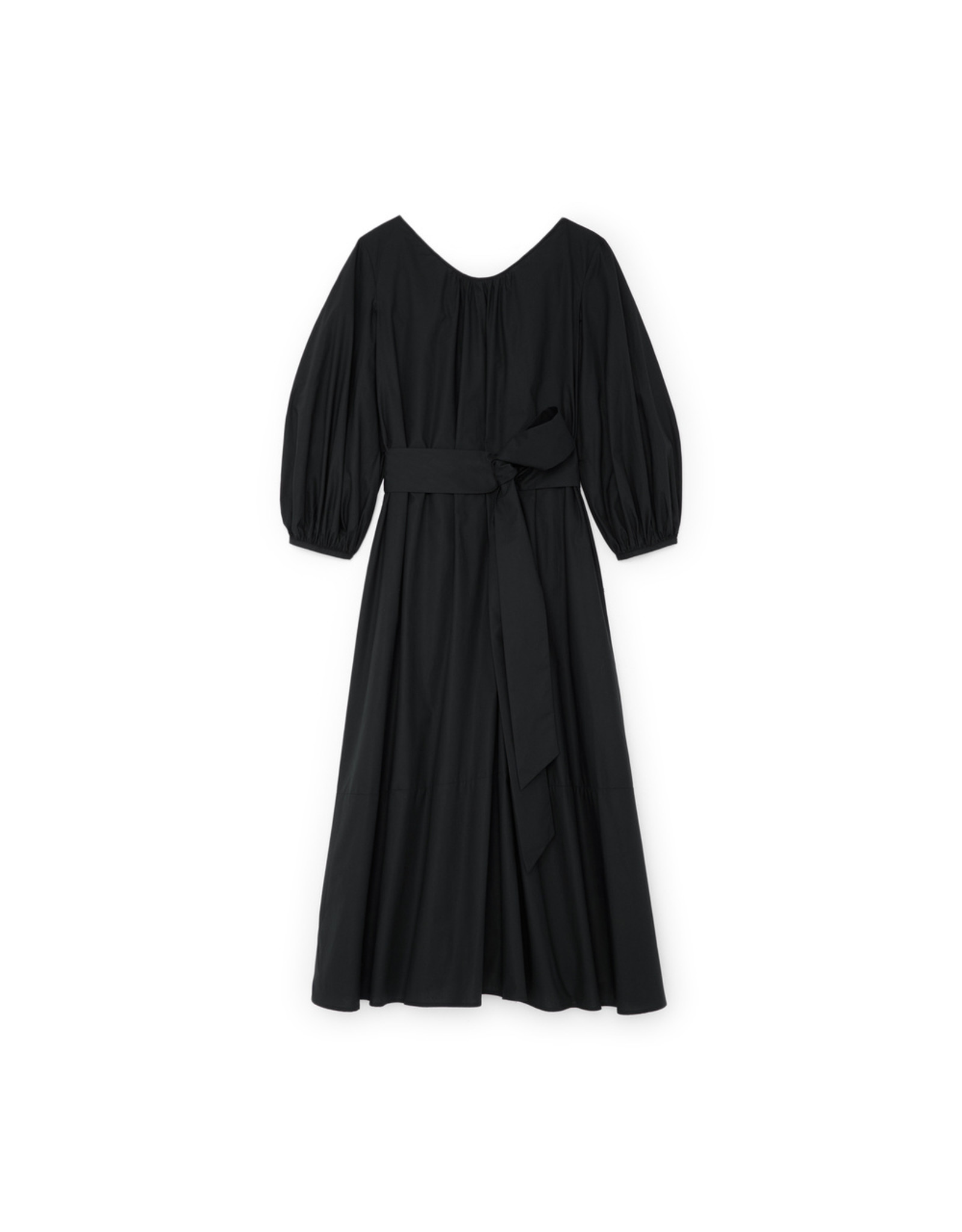 G. Label Amagansett Maxi Dress (Color: Black, Size: S)