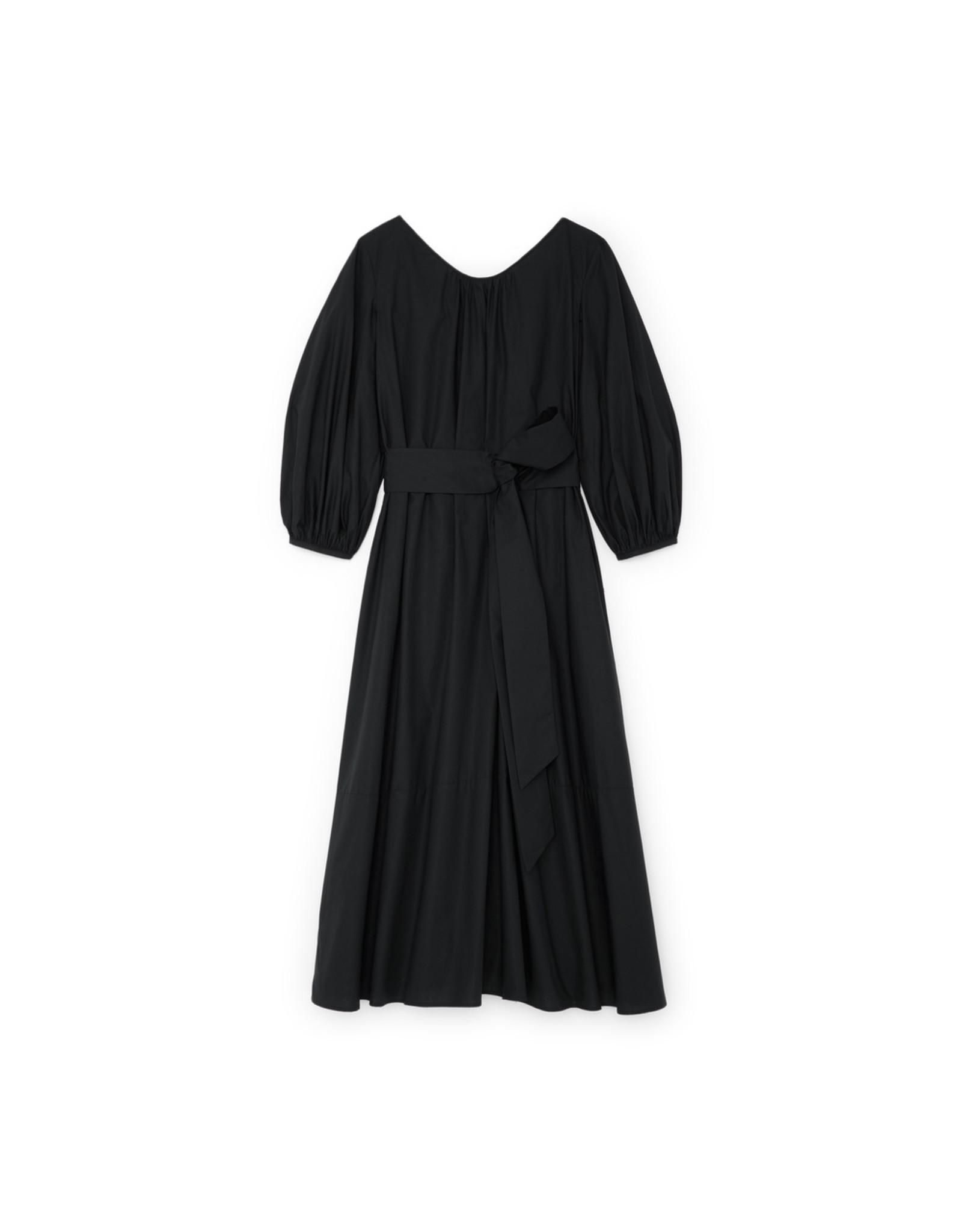 G. Label Amagansett Maxi Dress (Color: Black, Size: L)