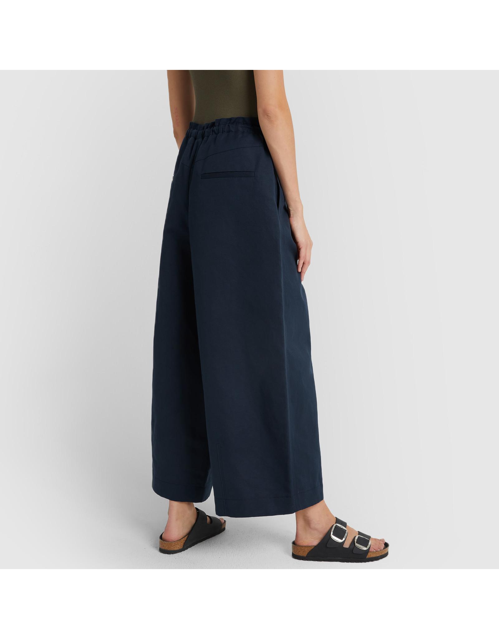 G. Label G. Label Dani Wide Leg Drawstring Pant (Color: Navy, Size: 4)