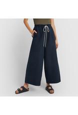 G. Label G. Label Dani Wide Leg Drawstring Pant (Color: Navy, Size: 6)