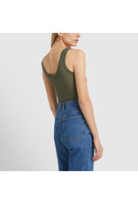 G. Label G. Label Lee Rib Tank (Color: Army Green, Size:M)