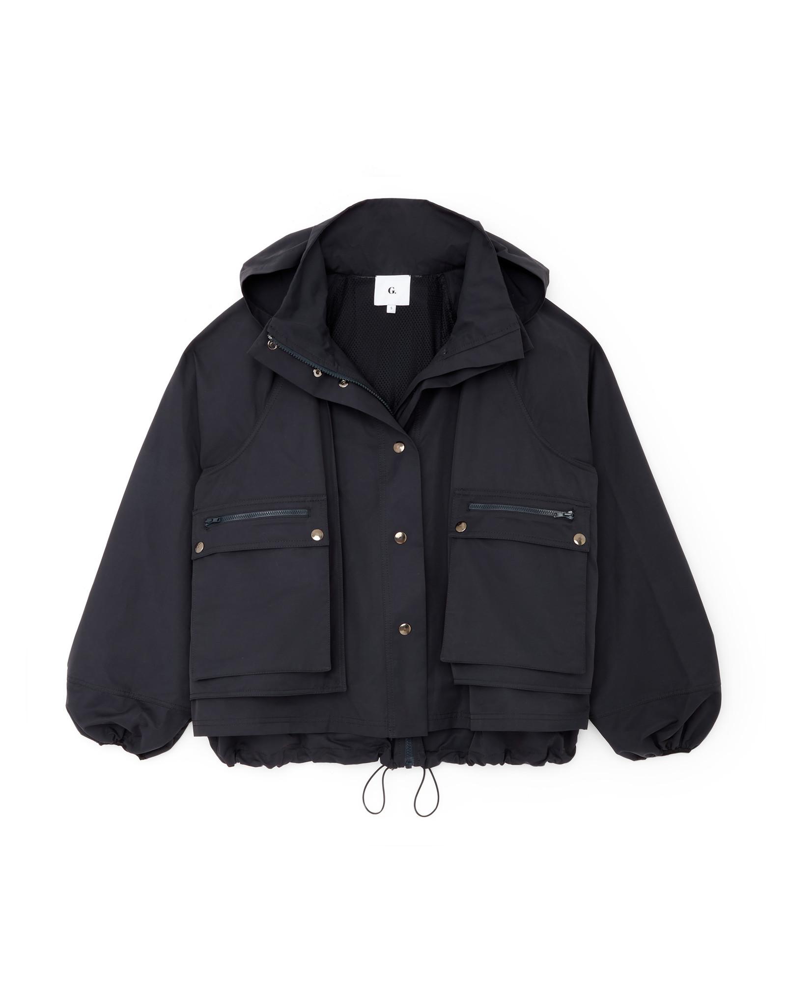 G. Label G. Label Carolyn Utility Performance Jacket (Color: Navy, Size: XL)