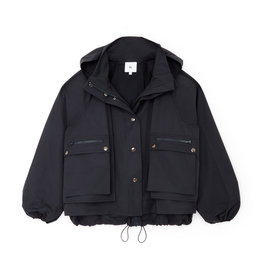 G. Label G. Label Carolyn Utility Performance Jacket (Color: Navy, Size: XL)
