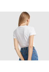 G. Label G. Label Ellian Organic Cotton Vintage Tee (Color: White, Size: XS)