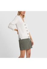 G. Label G. Label Lightweight Erica Cardigan (Color: White, Size: M)