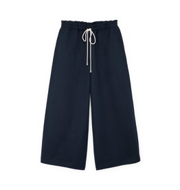 G. Label G. Label Dani Wide Leg Drawstring Pant (Color: Navy, Size: 4)