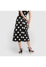 G. Label Danielson A-Line Polka-Dot Skirt  (Size: 8)