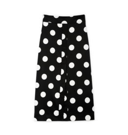 G. Label G. Label Danielson A-Line Polka-Dot Skirt  (Size: 8)