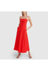 G. Label Cambria Skinny Strap Mid-Length dress (Color: Red, Size: 8)