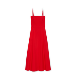 G. Label G. Label Cambria Skinny Strap Mid-Length dress (Color: Red, Size: 6)