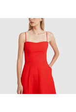G. Label Cambria Skinny Strap Mid-Length dress (Color: Red, Size: 2)