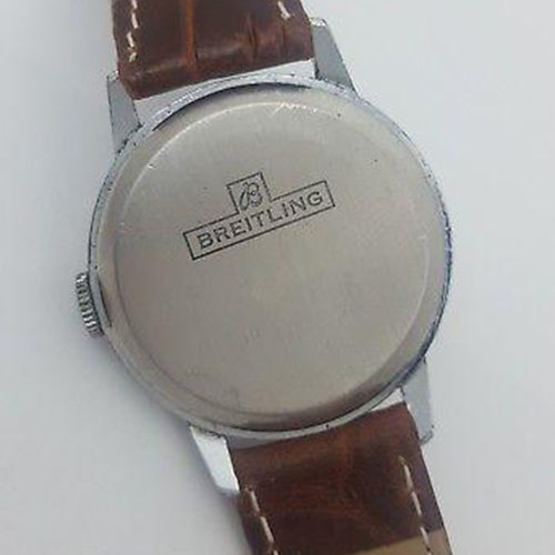 Breitling Textured Dial Vintage Watch