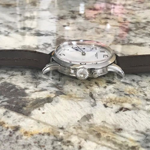 Audemars Piguet Pre-1920 Movement with Custom Wristwatch Case