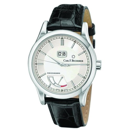 Carl F. Bucherer Manero BigDate Power Silver Dial