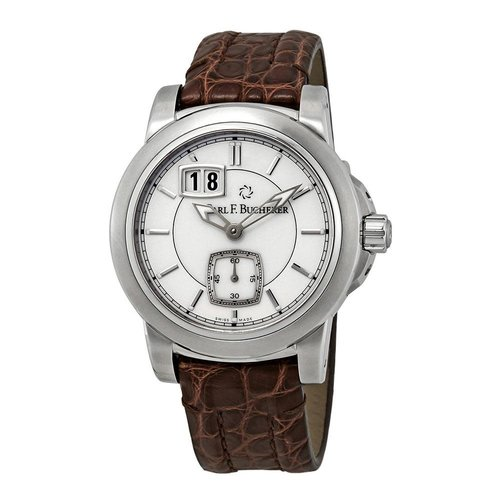 Carl F. Bucherer Patravi Silver Dial with Silver Tone Hands