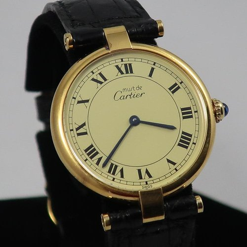 Cartier Vermeil Gold Plated