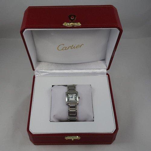 Cartier Stainless Steel Tank Watch