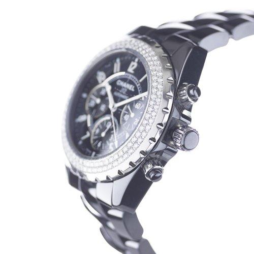 Chanel J12 Officially Certified ChronoMeter Diamond Bezel