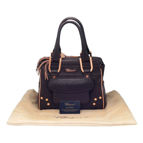 Chopard Caroline Mini Brown Leather Handbag