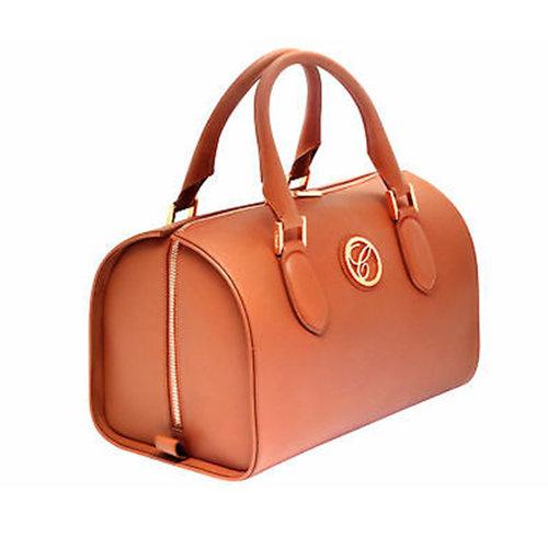 Chopard Milano Cognac Leather Handbag
