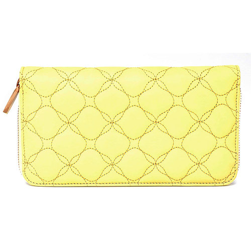 Chopard Medium Imperiale Quilted Banana Leather Wallet