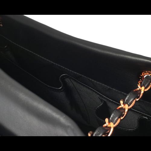 Chopard Lady Imperiale Black Leather Handbag