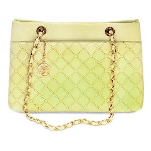 Chopard Mini Banana Leather Quilted Handbag