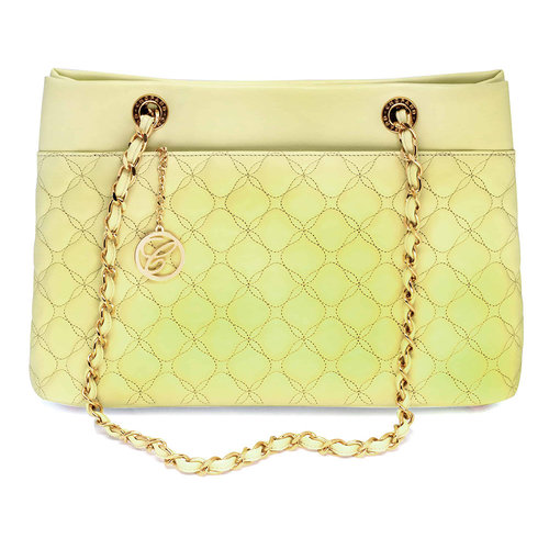 Chopard Mini Banana Leather Quilted Handbag