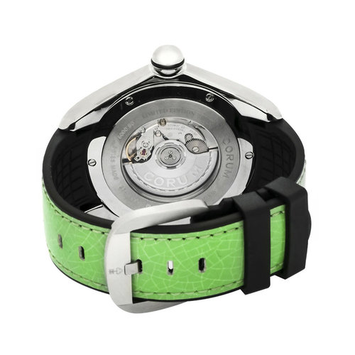 Corum Bubble 47 Disco Ball Stainless Steel Automatic