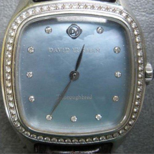 David Yurman Thoroughbred with Diamond Bezel & Hour Markers