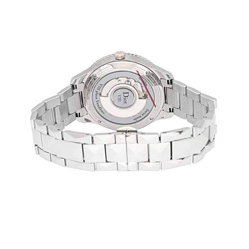 Dior VIII Montaigne Steel & 18K Rose Gold Ladies Diamond Watch
