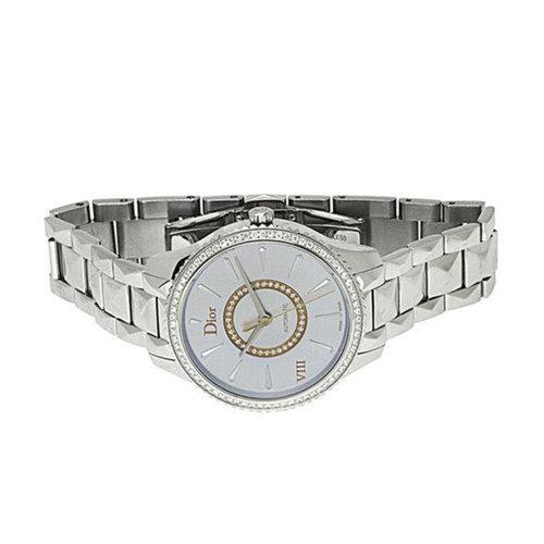 Dior VIII Montaigne Diamond Bezel & Diamond Center Track
