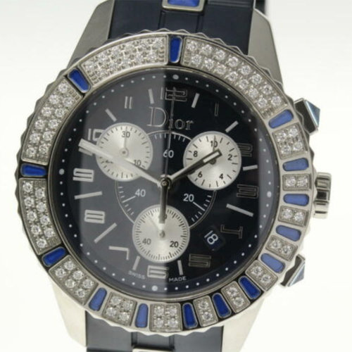 Dior Crystal Collection Chronograph Watch